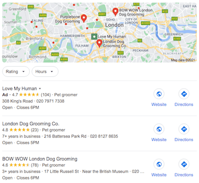 How To Improve Local SEO Results 3pack
